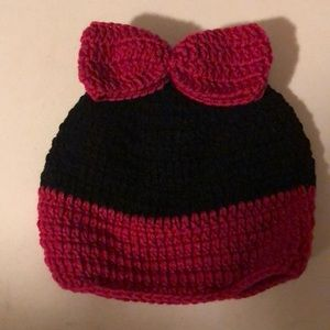 Knitted beanie (Hand made)